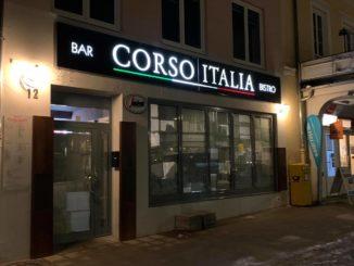 Frontansucht Corso Italia